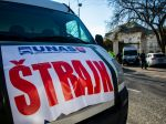 Polícia vylučuje, že by sankcionovala autodopravcov za účasť na zhromaždeniach