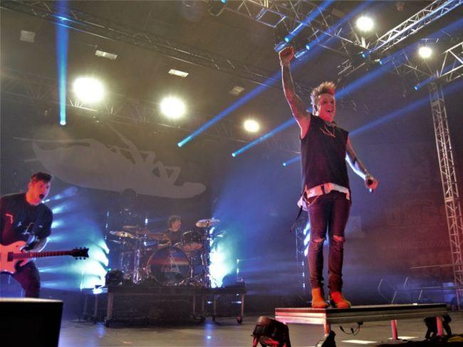 Šváby zamorili pódium.Papa Roach,Hollywood Undead a Ice Nine Kills vystúpili v Bratislave