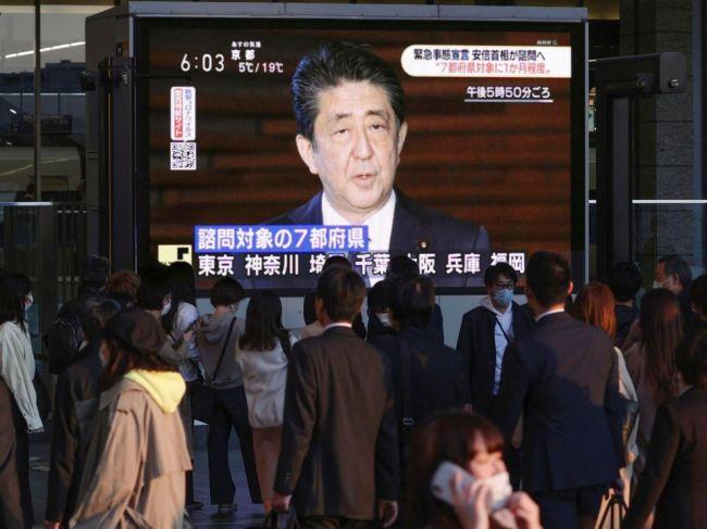 Japonský premiér vyhlásil núdzový stav
