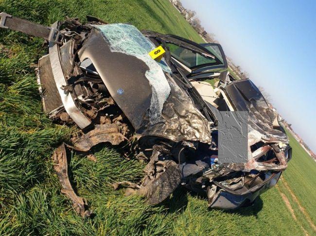 Vodič zahynul po náraze do stromu