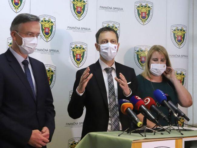 Minister financií Eduard Heger štartuje boj proti daňovým podvodom