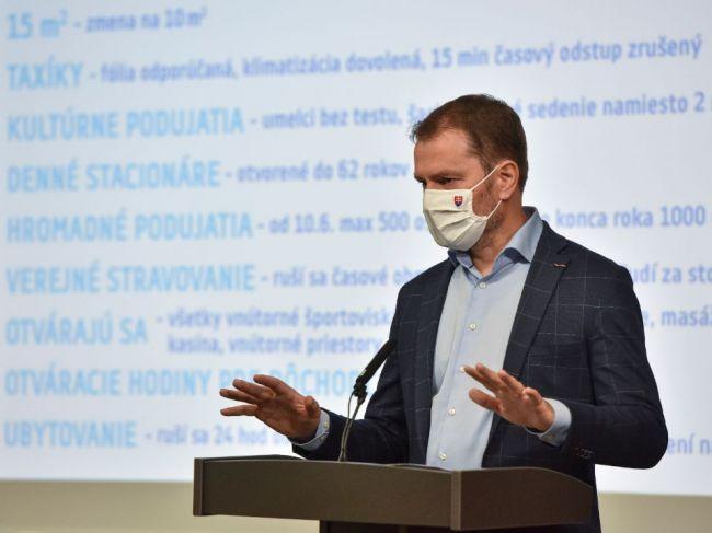 Premiér ohlásil zmeny: Veľa toho už zatvoreného alebo obmedzeného na Slovensku nebude