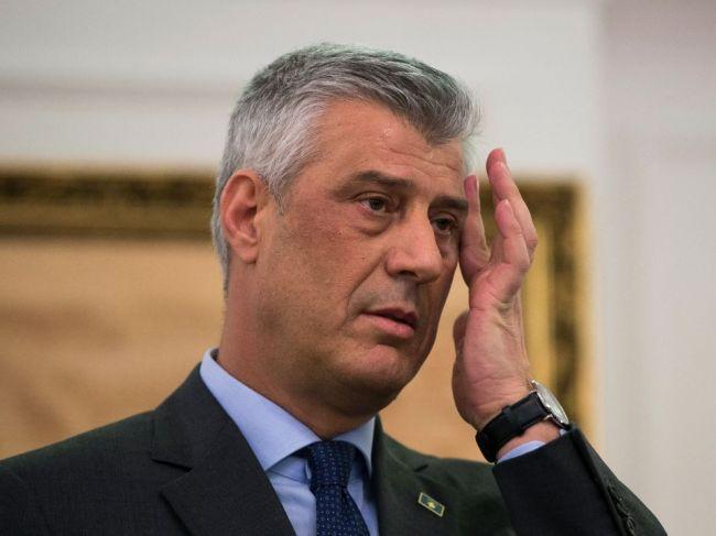 Kosovský prezident odstúpi, ak haagsky súd potvrdí obžalobu voči jeho osobe