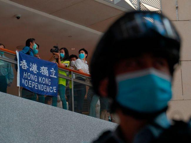Taiwan varuje občanov pred návštevou Hongkongu po schválení zákona o bezpečnosti
