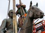 Mesto Richmond nariadilo okamžité odstránenie konfederačných sôch