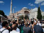 Erdogan: Prvé moslimské modlitby v Hagii Sofii budú 24. júla
