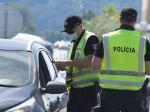 Polícia počas monitorovania hraníc zaevidovala príchod 64.444 vozidiel do SR