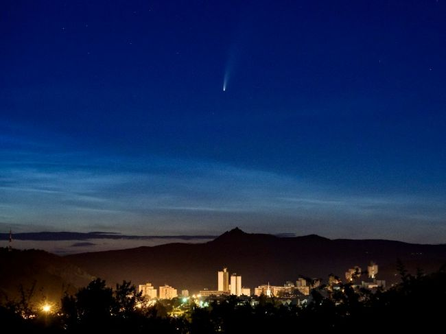 Kométu NEOWISE bude na oblohe sprevádzať aj sedem planét slnečnej sústavy