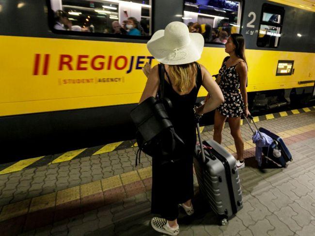 Vlaky RegioJet zatiaľ prepravili do Chorvátska 20.000 cestujúcich