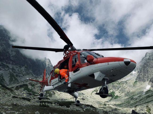 Vo Vysokých Tatrách muž neprežil pád z výšky 40 metrov