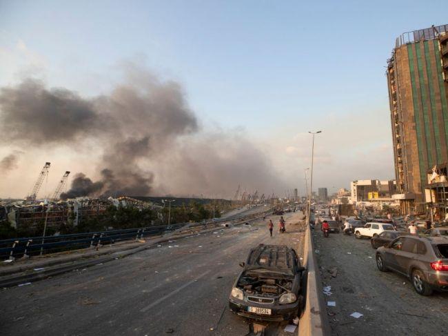 Dijáb: V prístavnom sklade v Bejrúte bolo asi 2750 ton dusičnanu amónneho