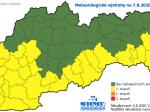 SHMÚ: Na väčšine územia Slovenska bude v piatok horúco