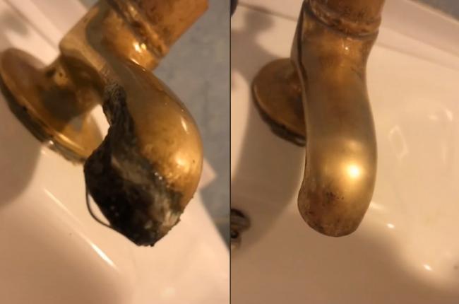 Video: Žena ukázala, ako sa zbaviť odolného vodného kameňa, stačí pár centov
