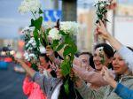 Bieloruský minister vnútra sa ospravedlnil demonštrantom