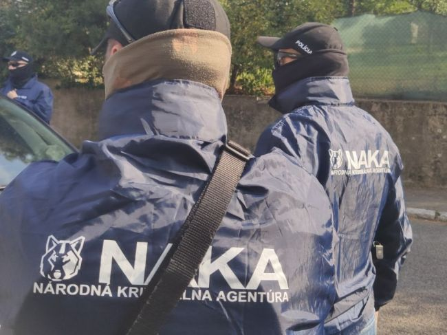NAKA zasahuje na viacerých miestach v Bratislave