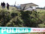 Polícia vyšetruje nález poškodeného ľahkého lietadla bez posádky