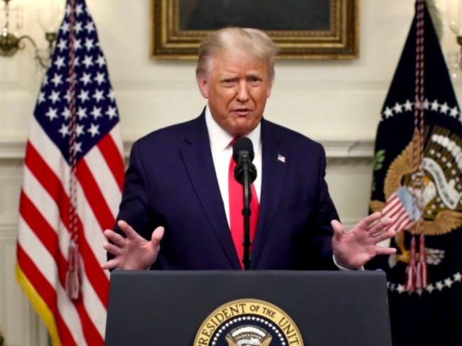 Trump vo vystúpení na VZ OSN kritizoval Čínu za pandémiu a znečisťovanie