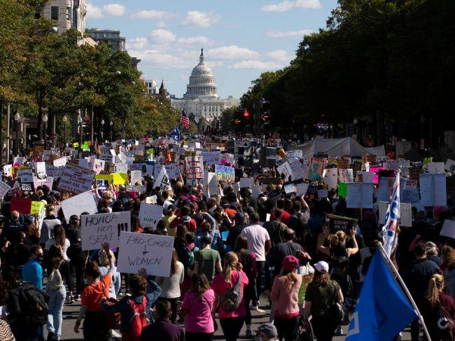 V USA sa konali pochody žien protestujúcich proti prezidentovi Trumpovi