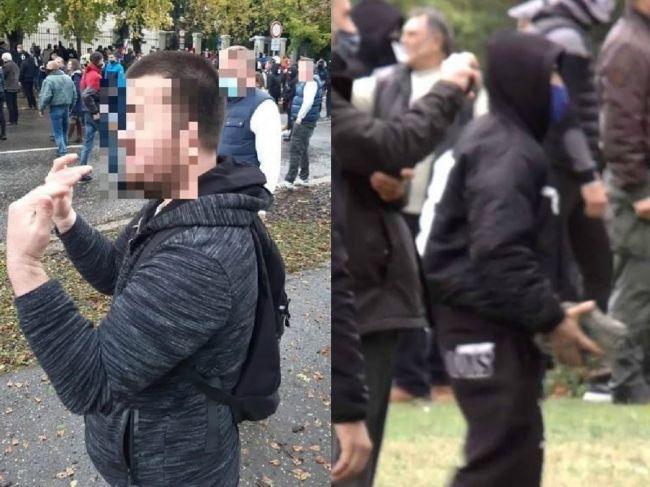 Polícia obvinila dve osoby z protestu v Bratislave, hrozí im 25 rokov za mrežami