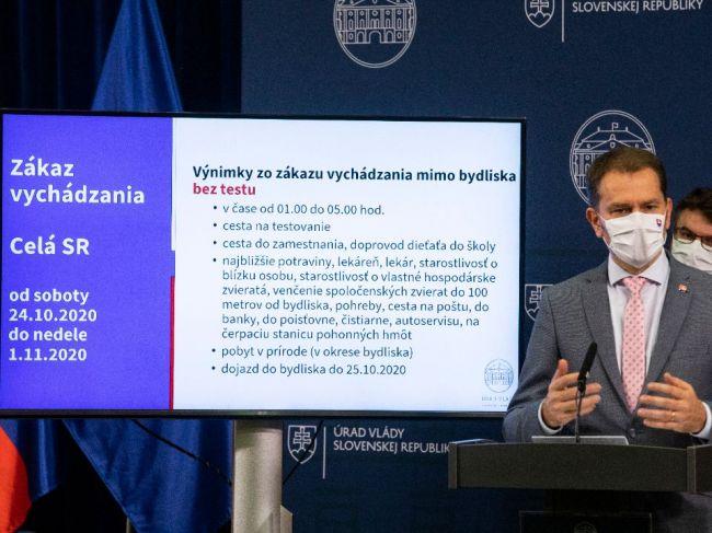 VEĽKÝ PREHĽAD: Toto sú nové opatrenia proti pandémii koronavírusu