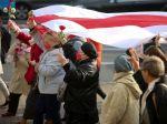 Protesty proti Lukašenkovi pokračujú už 80. deň