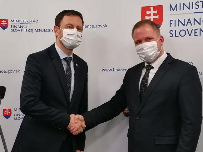 Heger predstavil nového prezidenta Finančnej správy SR