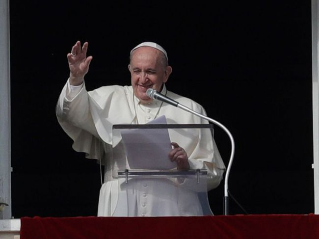 Pápežov účet na Instagrame dal