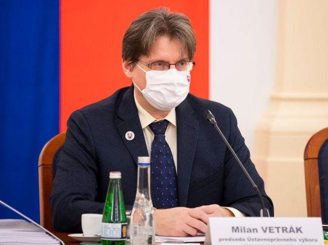 Termín voľby kandidáta na šéfa GP sa zrejme posunie, odhaduje Vetrák