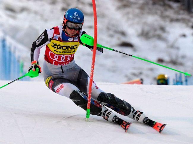 Petra Vlhová sa stala víťazkou slalomu vo fínskom Levi