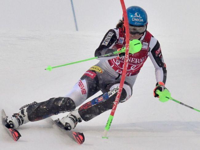 Petra Vlhová vyhrala ďalšie kolo slalomu Svetového pohára