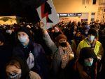 Poliaci opäť protestovali proti obmedzovaniu interrupcií a policajnému násiliu