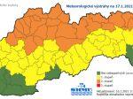 Na severe Slovenska môže byť v nedeľu v noci až mínus 25 stupňov Celzia