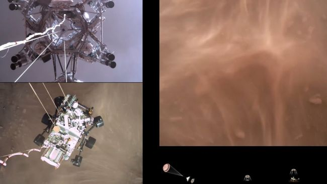 Video: NASA zverejnila vôbec prvý zvuk z Marsu a video z vozidla Perseverance