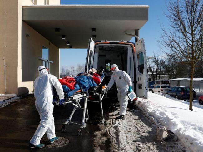 V Česku je vo vážnom stave rekordný počet pacientov