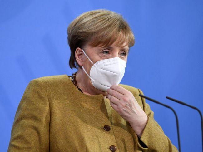 Merkelová: Nemecko prežíva tretiu vlnu koronavírusovej pandémie