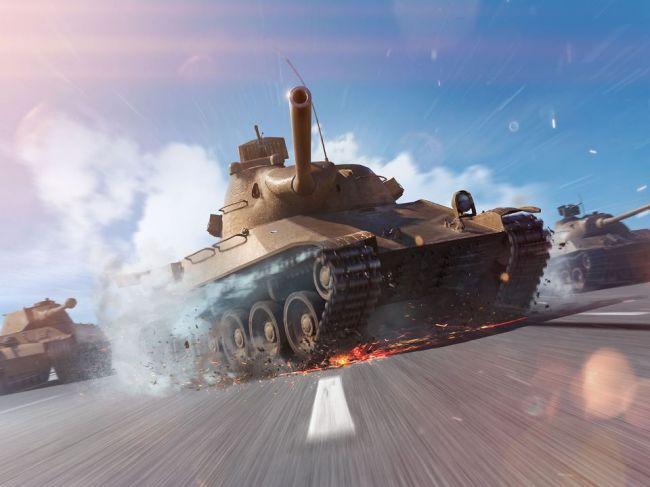 Hon na Marpa s novými československými tankami v hre World of Tanks Blitz