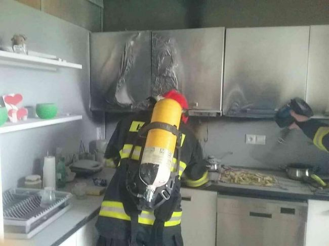 Foto: Vďaka včasnému zásahu hasičov nedošlo k rozšíreniu požiaru