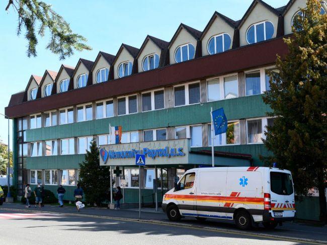 Nemocnica Poprad eviduje pokles pacientov, ktorí sú na umelej pľúcnej ventilácii
