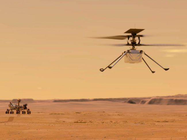 NASA: Prvý let vrtuľníku Ingenuity na Marse sa odkladá