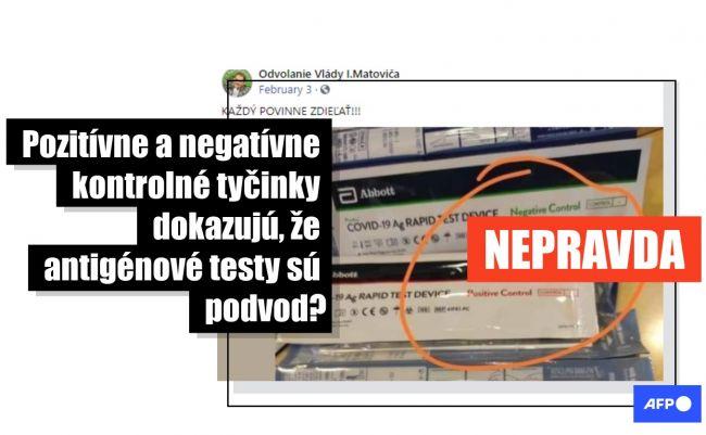 Slováci uverili hoaxu o antigénových testoch. Takto je to naozaj