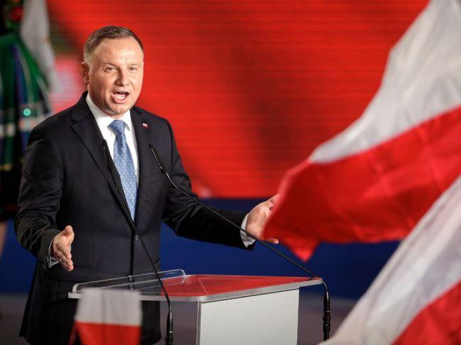 Duda ubezpečil, že Poľsko a ďalšie štáty podporujú poskytnutie MAP Ukrajine