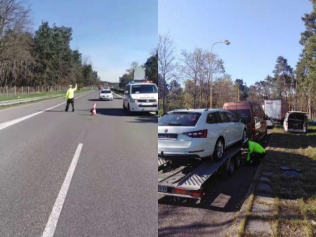Video: Polícia na diaľnici zorganizovala dopravno-bezpečnostnú akciu