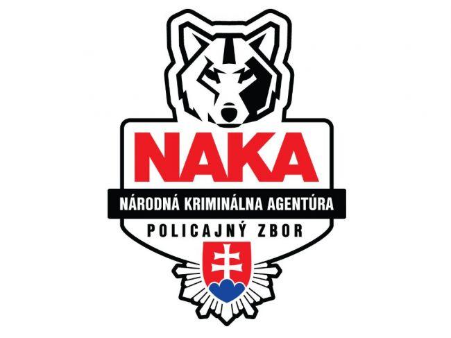 NAKA zasahovala vo viacerých častiach Slovenska, obvinila 16 osôb