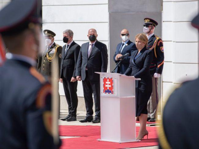 Prezidentka: Slovensko by bez nasadenia ozbrojených síl pandémiu nemohlo zvládnuť