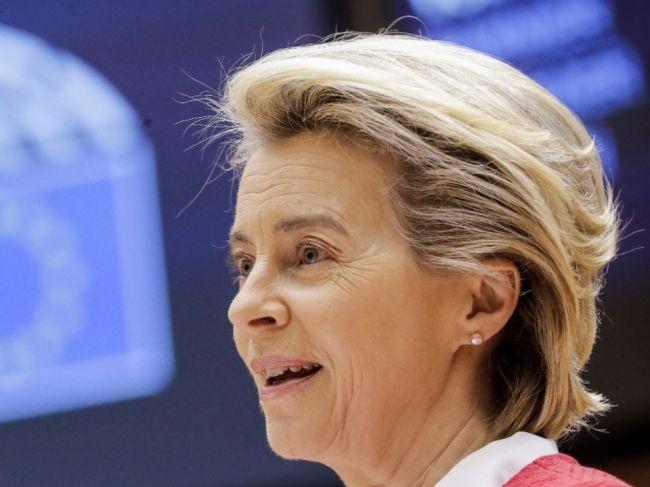 Von der Leyenová: Prvú dávku vakcíny proti covidu dostala štvrtina obyvateľov EÚ