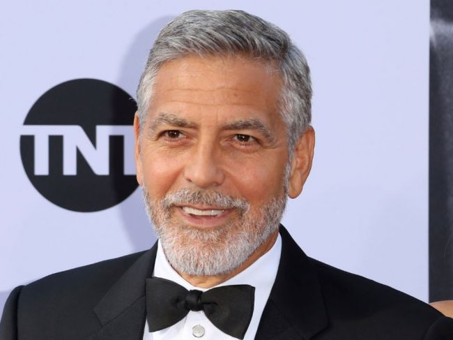 Oscarový herec George Clooney jubiluje