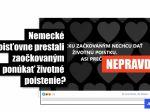 Zaočkovaní Nemci či Slováci proti covidu môžu uzavrieť životné poistenie
