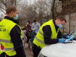 Polícia zistila minulý týždeň viac ako 1020 porušení opatrení
