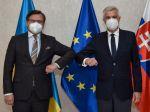 Ukrajinský minister zahraničných vecí sa poďakoval Slovensku za podporu