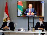 Macron, Sísí a jordánsky kráľ budú rokovať o prímerí na Blízkom východe